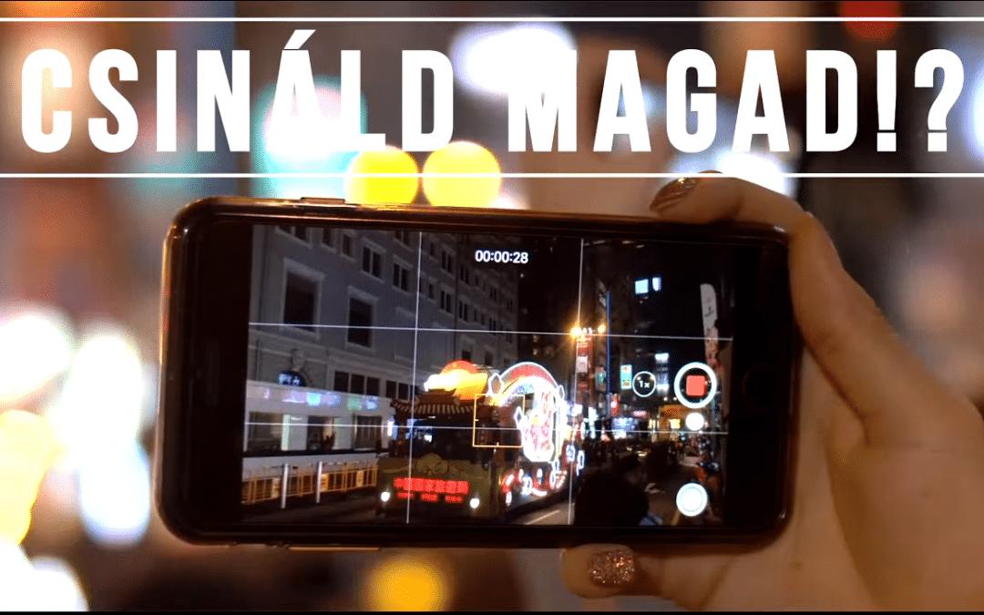 VLOG: Home made üzleti videó